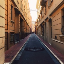 An alley in Monaco