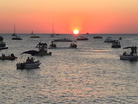 San Antonio sunset