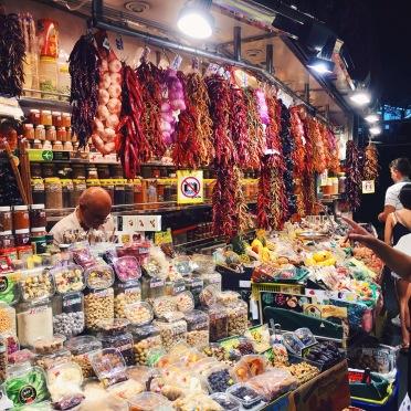 Mercado de La Boqueria - La Rambla, Barcelona